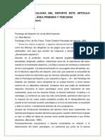 TAREA DE PSICOLOGÍA DEL DEPORTE ESTE ARTICULO REPRESENTA AL ÁREA PRIMARIA Y TERCIARIA.docx
