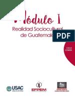 Moìdulo I Curso Realidad Sociocultural de Guatemala Con Anexo