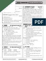 QSE INT Answer Key 2009 Unit 18