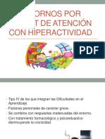 Trastornos Por Déficit de Atención Con Hiperactividad