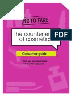 No to Fake Cosmetics
