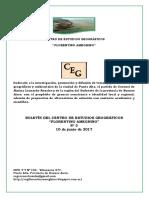Informe Parque San Martín