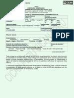 Ficha de Beneficiario 2017