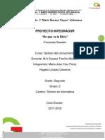 Pro Yec to Integra Dor