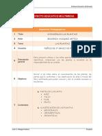 Proyecto Educativo Multimedia - Formato