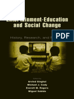 Entertainment-Education and Social Change History, Research, And Practice