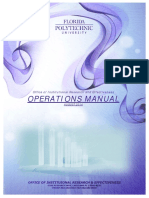 Office of OIRE Manual