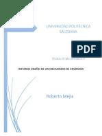 Informe mecanismos-engranajes