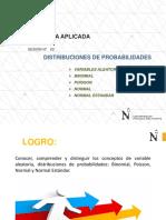 SESION N° 02 Distribuciones de Probabilidades - Administración