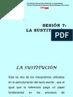 Sesion7 La Sustitucion