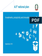Industria 4.0 National Plan