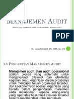 Audit Manajmen