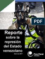 Informe Represion Abril 2017
