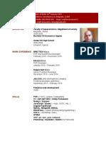 V.kovacevic CV