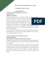 Enfoque Jurídico Inversión Extranjera en Ecuador