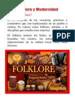 Folklore y Modernidad