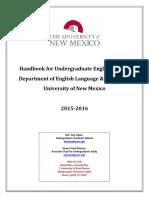 Undergraduate Handbook