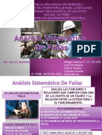 DETECCION SISTEMATICA DE FALLAS