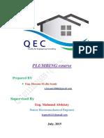Plumbing Course 2015