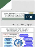 Proceso de Enfermer a Etapas Resumidas en Diapositivas