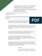 Una Revisión Del Ecosistema Emergente de Herramientas Geoespaciales Colaborativas Para Abordar Desafíos Ambientaleshttp