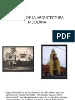 Apogeo de La Arquitectura Moderna