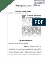 LEGIS.pe Casacion 780 2015 Tumbes Notificacion de Agraviado a Audiencia de Terminacion Anticipada Es Obligatoria Aunque No Se Haya Constituido en Parte Civil