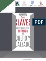 Manual Claves Para La Gestion de Mipymes Del Cuero y El Calzado