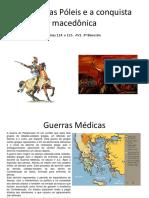 A Crise Das Póleis e a Conquista Macedônica