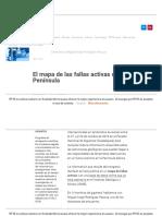 El Mapa de Las Fallas Activas en La Península - RTVE