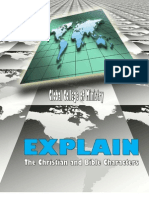 1EXP3The Christian and Bible Characters Mini Course
