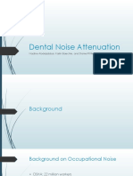 dental noise attenuation pptx