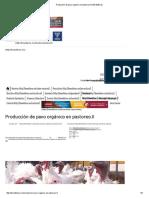 Producción de Pavo Orgánico en Pastoreo
