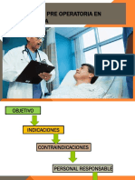 Evaluacion Pre Operatoria en Ginecologia