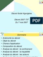 2007-737 Décret fluide frigorigène