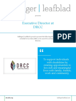 Position Profile - DRCC - Executive Director
