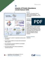 CRC Expression Protein Mutation