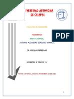 Proyecto Final Pavimentos 2016