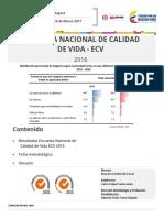 Boletin Tecnico ECV 2016