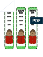 Bookmark Template 02