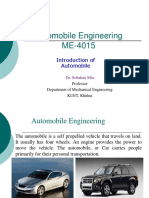 Automobile Engineering - Introduction to Automobile Engineering