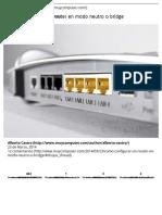 Cómo configurar un router en modo neutro o bridge » MuyComputer.pdf