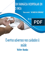 Eventos Adversos Walter Mendes