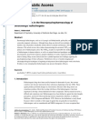 Recent Advances in the Neuropsychopharmacology of Serotonergic Hallucinogens