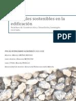TESI-Materiales Sostenibles en La Edificación. Residuos de C