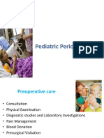 Pediatric Perioperative
