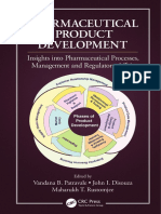 [] Pharmaceutical Product Development Insights