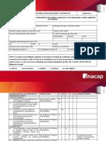 Planilla Check List Diagnostico