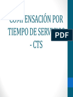 Compensación por Tempo de Servicios CTS