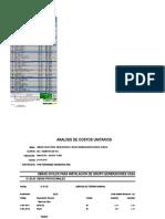 Obras Civiles Para Inst. de Grupos Generadores Casa de Fuerza